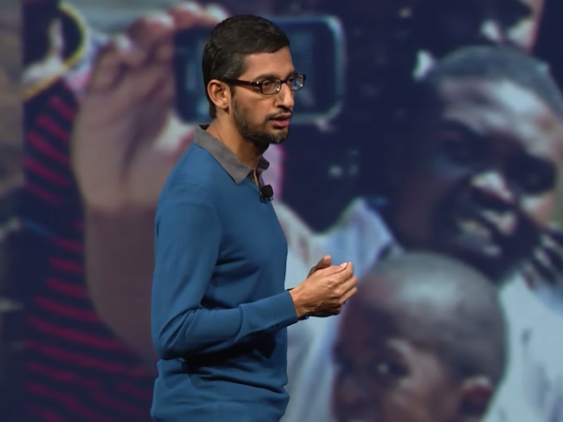 Google CEO Sundar Pichai to Meet PM Modi, President Mukherjee