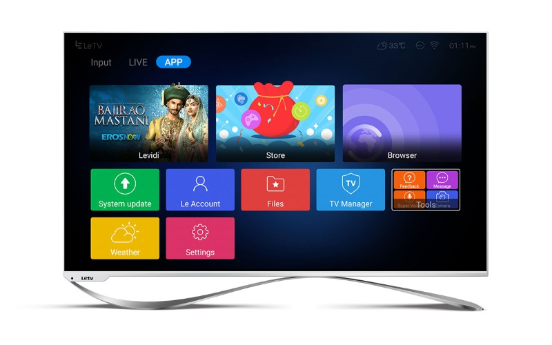 LeEco Launches Super3 Series Of Smart TVs In India Starting Rs 59790