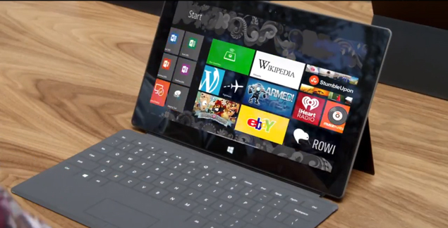 Microsoft sued over Surface tablet's storage capacity