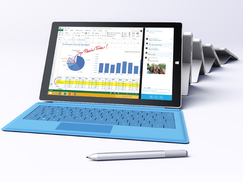 Microsoft Surface Pro 3 Update Brings Battery Life Surface