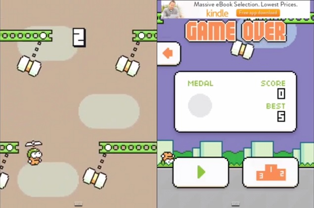 Flappy Bird Creator Unveils His Next Game - Swing Copters