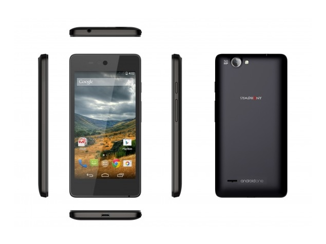 Symphony Roar A50 Launched as First Android One Handset Outside India