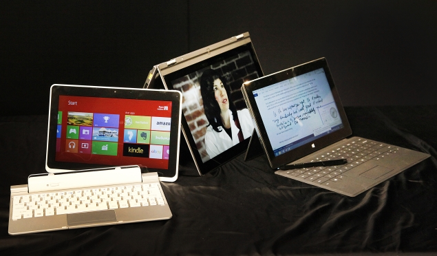 Microsoft Surface Pro vs  Lenovo Yoga 13 vs  Acer Iconia