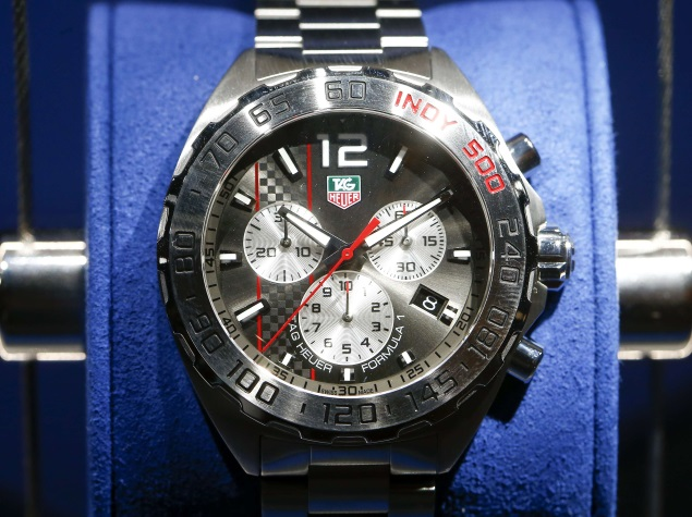 Tag Heuer to Launch Smartwatch at Baselworld Fair on Thursday