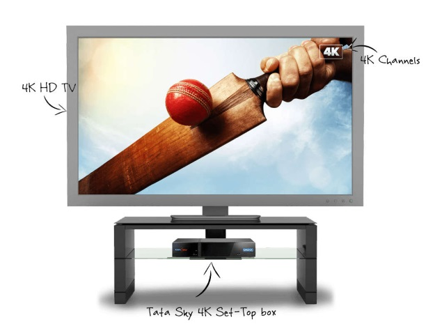 Tata Sky Launches 4K Set-Top Box; Targets ICC Cricket World Cup