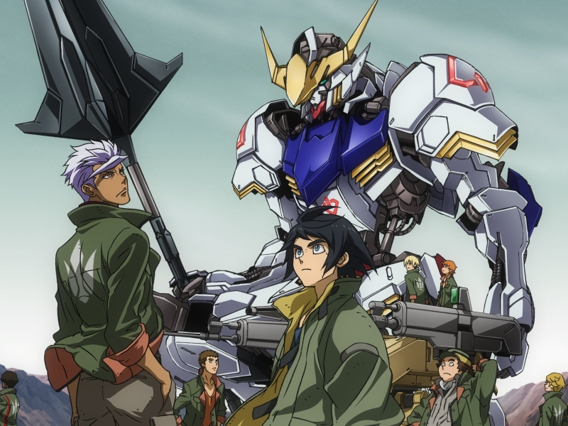 you should watch iron blooded orphans even if you re not an anime