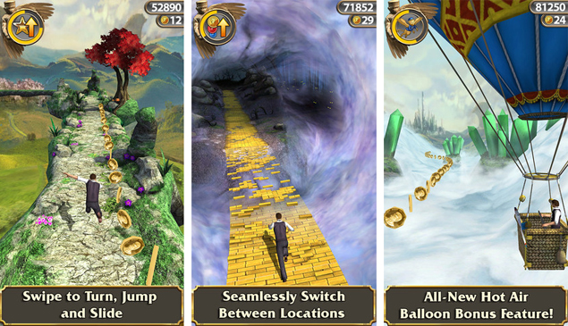Temple Run: Oz for iOS released