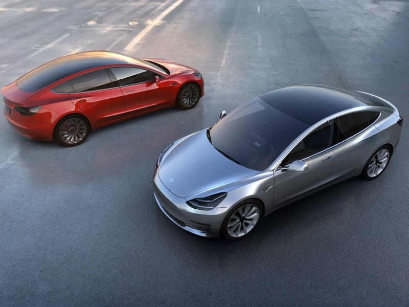 Meet the New Model 3 From Tesla
