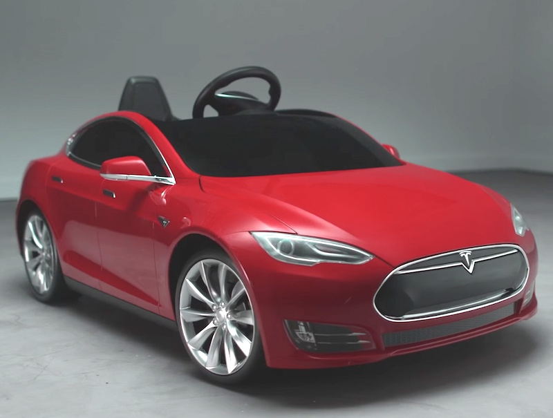 Heres A Tesla Car You Can Actually Afford And Give To Your Kids - A tesla car