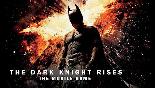 The Dark Knight Rises game on iOS, Android