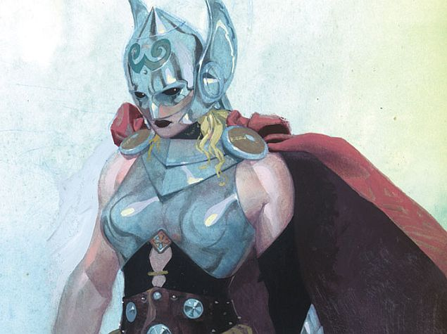 Thor Is a Woman, Captain America Is Black, and We're All Right