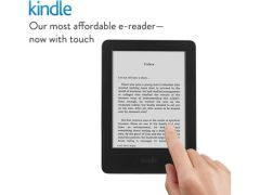 Amazon Launches New Kindle E-Reader With Touchscreen at Rs. 5,999