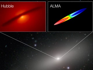 Astronomers Derive First Precise Measurement of a Black Hole's Mass