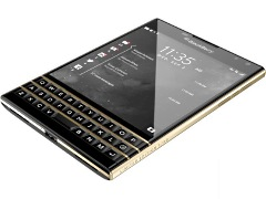 BlackBerry Passport Gets Limited Edition Black and Gold Variant