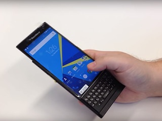 BlackBerry Venice Android Smartphone Spotted in Hands-On Video