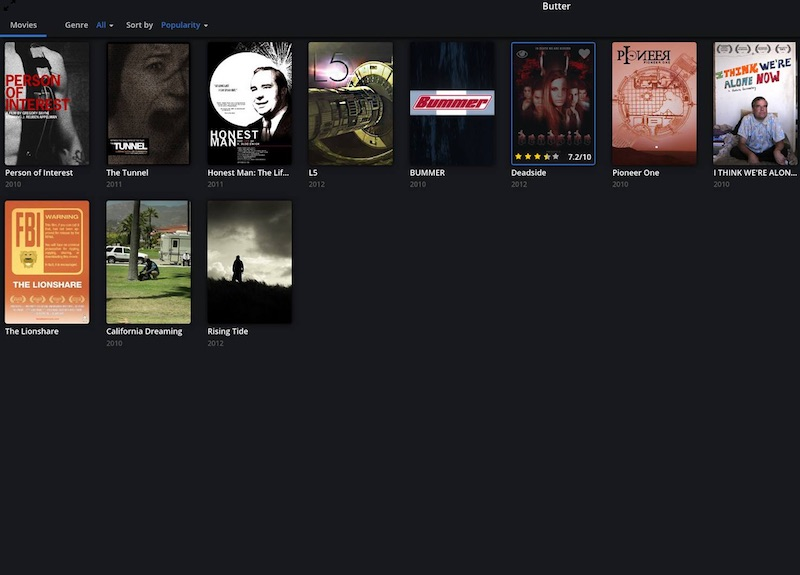 Popcorn Time Creators Unveil Legal Torrent Streaming Service 'Butter'