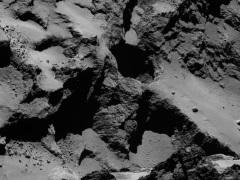 Rosetta Spacecraft Finds Massive Sinkholes on Comet's Surface