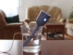 This Little Gadget Turns an Ordinary Glass of Water Into a Humidifier