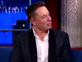 Elon Musk Tells Stephen Colbert He Wants to Nuke Mars