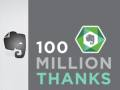 Evernote Announces 100 Million Users Across Its Apps