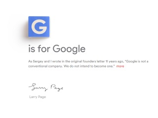 Google's Daunting Challenge With Alphabet Is How to Organise Itself