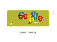 Google's Brazil vs Germany Doodle on Tuesday Showcases 'Vanishing Spray'