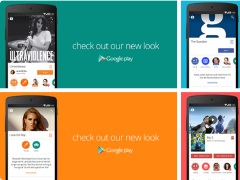 Google Play Material Design Revamp Now Rolling-Out to Users