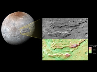 Super Grand Canyon Spotted on Pluto's Moon Charon