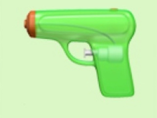 Apple Subs Squirt Gun for Controversial Pistol Emoji