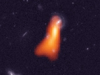 Astronomers Detect Hydrogen in Galaxy More Than 5 Billion Light-Years Away
