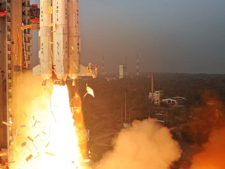 Isro Launches GSAT-6 Communications Satellite