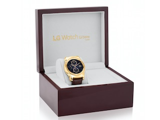 LG Watch Urbane Luxe 23-Karat Gold-Plated Smartwatch Launched