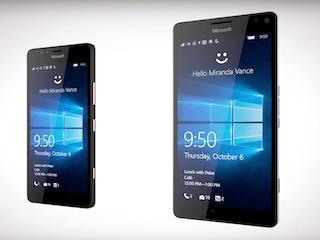 Microsoft Lumia 950 Dual SIM, Lumia 950 XL Dual SIM India Launch Set for Monday