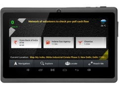 MapmyIndia Buzz Android Navigation Tablet Launched at Rs. 17,990
