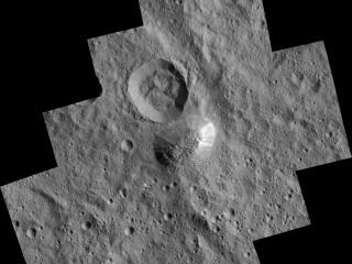 Nasa's Dawn Spacecraft Spots Mountain on Dwarf Planet Ceres