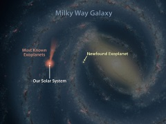 Nasa's Spitzer Space Telescope Finds Planet 13,000 Light Years Away