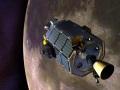 NASA's moon-orbiting robot crashes down