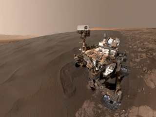 Foreign Object Found By Curiosity Rover on Mars a Rock Flake, NASA Says