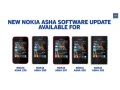 Nokia Asha touch phones receiving software update for MixRadio and more