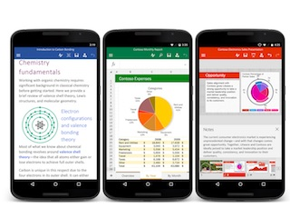 Microsoft Office for Android Makes It Easier for New Users to Come Aboard