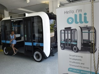 IBM Watson-Powered Olli 3D-Printed Self-Driving Minibus to Hit the Road in US