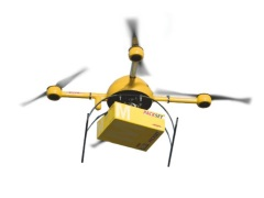 DHL Starts Drone Delivery Trial With 'Parcelcopter'