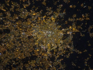 ISS Photos Help Scientists Measure Light Pollution on Earth