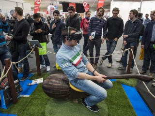 Broomstick Flying or Red-Light Ping-Pong? Gadgets at CeBIT 2016