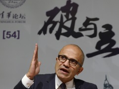 Microsoft Boss Nadella Promises Cooperation in Chinese Antitrust Probe