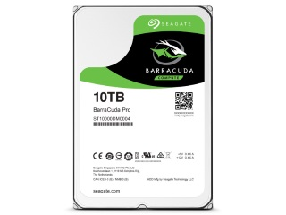 Seagate Unveils 10TB BarraCuda Pro HDD for Home Use
