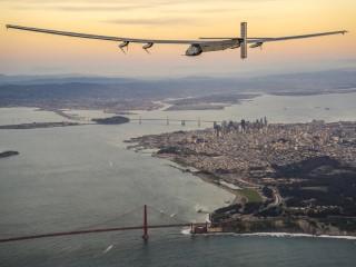 Solar Impulse 2 Lands in Arizona on Round-the-World Flight