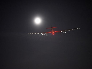 Solar Impulse 2 Lands in New York in Historic Bid to Circle the Globe