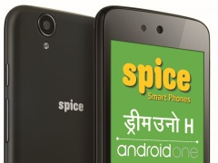 Spice Dream Uno H Android One Phone Launched at Rs. 6,499