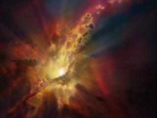 Astronomers Observe 'Supermassive' Black Hole Gorging on Gas